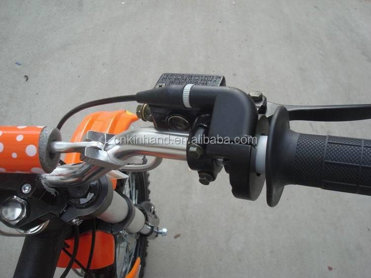 Hot 125cc 4 Takt Elektrische Vanaf Handleiding Clutch Motocross Bike