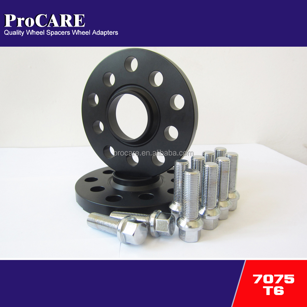 7075 t6 15mm forged wheel spacer 5x100/5x112 for car