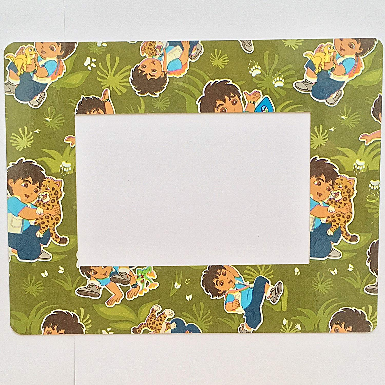 "Go, Diego, Go! Refrigerator Magnet 4"" x 6"" Photo Magnetic Picture Frame Nick Jr"