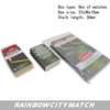 waterproof waxed match, boxed match ,matchesCOLEMAN outdoor usage match