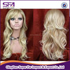 fashion ladys synthetic hair women natural wigs manufacturer