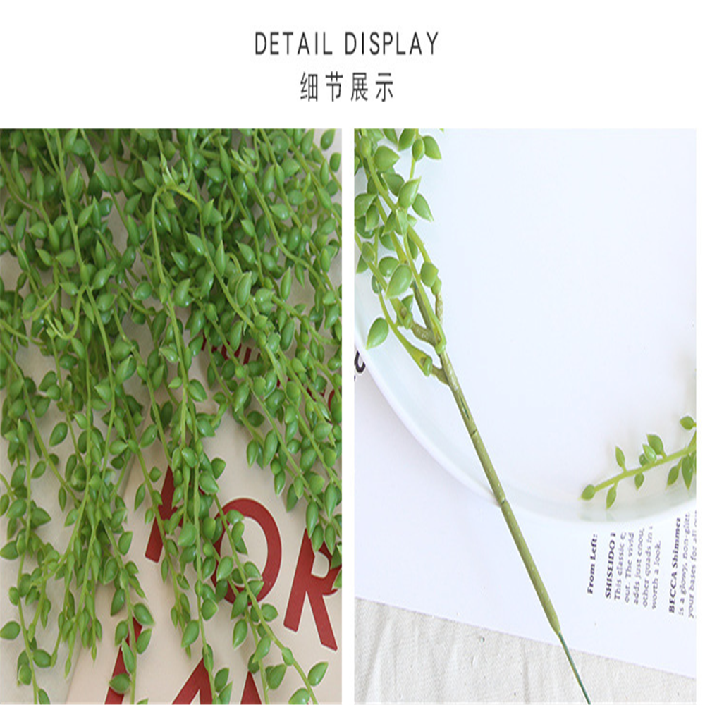 wholesale wedding decoration long hanging plastic artificial flower