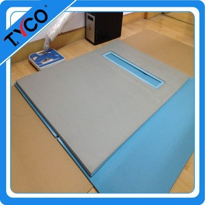 ceramic tile shower base waterproof and thermal insulation board