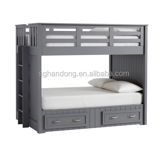 High Quality Best Price Kids Bedroom Furniture/children Grey Bunk
