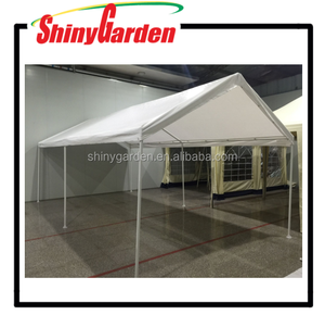 10x20 Domain metal carport PE fabric carport