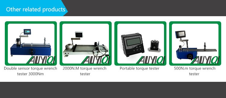 ANJ-500N.m Digital Torque Wrench Calibration Machine