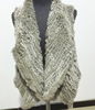factory price high quality rabbit fur vest for women