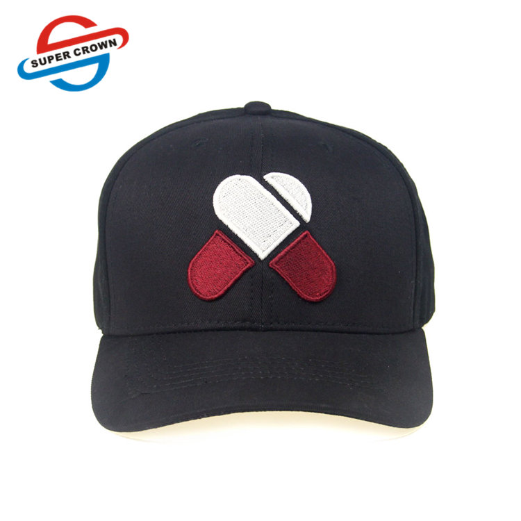 SUPER CROWN Guangzhou Factory Oem Odm 6 Panel Custom Embroidered Dad Hat