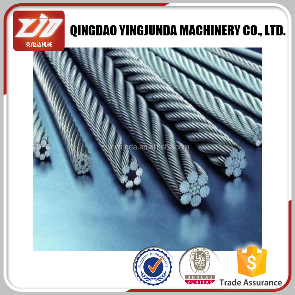 Galvanized Wire Rope, Galvanized Aircraft Cable Steel Wire Rope 7*7