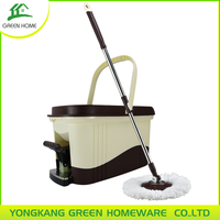 SPIN MOP AND BUCKET KIT ROTATING 360 MICROFIBRE CLOTH HEAD MAGIC MOP Cleaning Floor Smoothly Classic Product