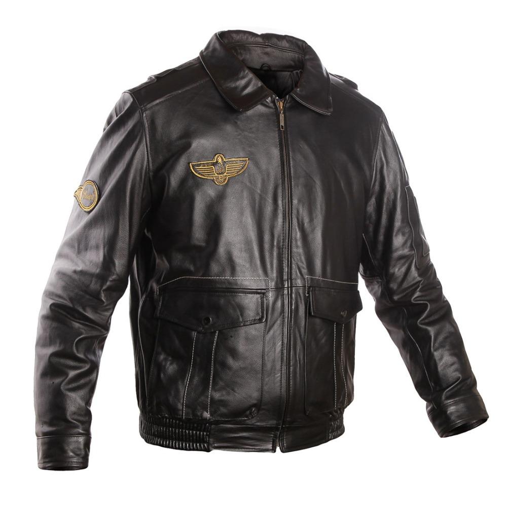 Men's 100% Genuine Leather Jacket Mens Winter Jackets ...