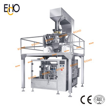 Automatic Popcorn Paper Bag Packaging Machine(MR8-200+Weiger+Liquid Filler)