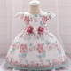 EGM134 2019 New design party wear dress for 3 year girl in party