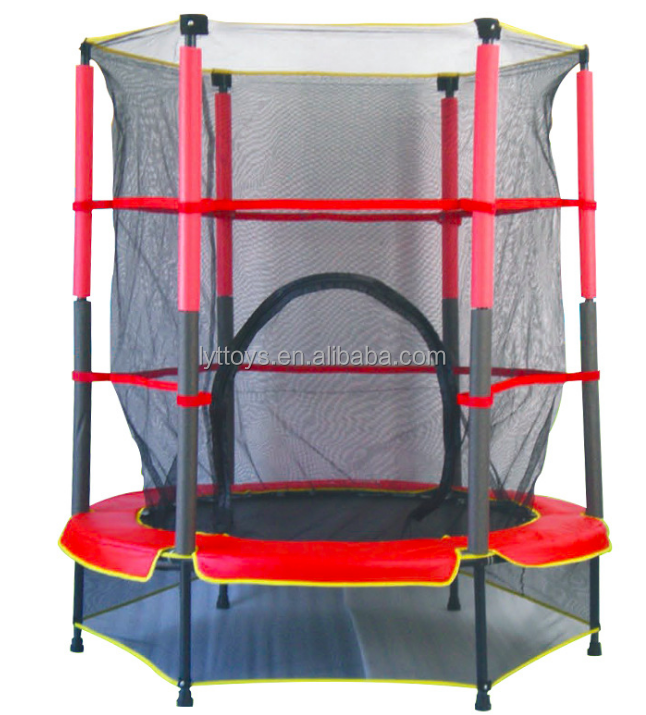 Commercial outdoor professional round kids trampoline bed for sale