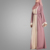 Hot Sell Latest Burqa Designs Fashion Simple Style Front Open Abaya Kaftan Abaya Islamic Clothing