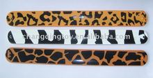 falshion Camo Silicone Clap Bracelet with printing and logo