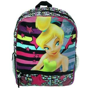 "Backpack - Disney - Tinkerbell - Tink Tastic 16"" (Large School Bag)"