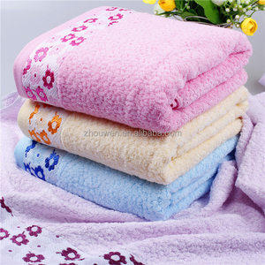 Hot Sale Absorbent Bamboo Fiber Sterile Face / Hand / Hair Towel