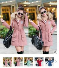 2016 Winter Jacket Women Parka Thicken Outerwear Coat