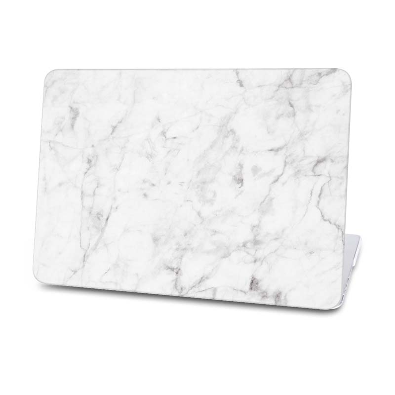 hot samle waterproof marble case for macbook air pc protective laptop hard cover