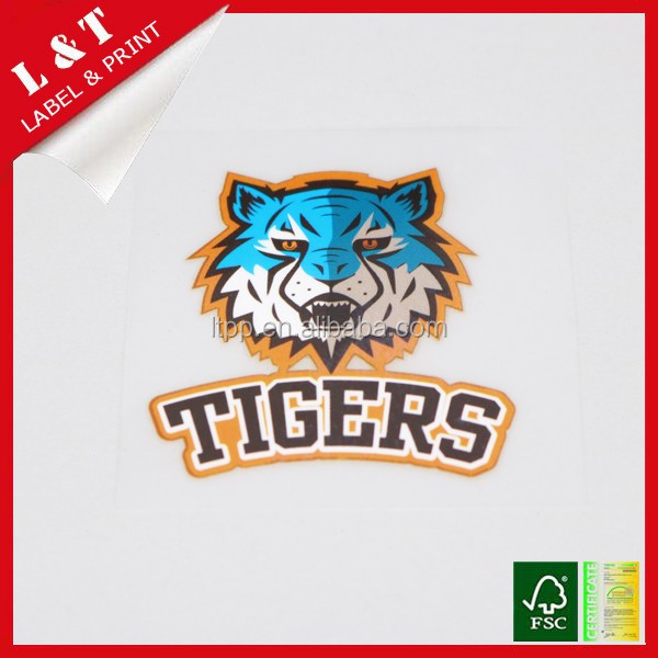 Washable kids cartoon heat transfer labels for garment