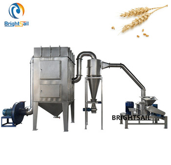 Wheat corn maize flour mill grain grinder with large capacity