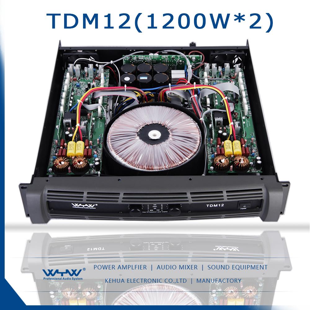 2017 New 2 Channel Class Td Analog Power Amp - Buy Class Td Power ...