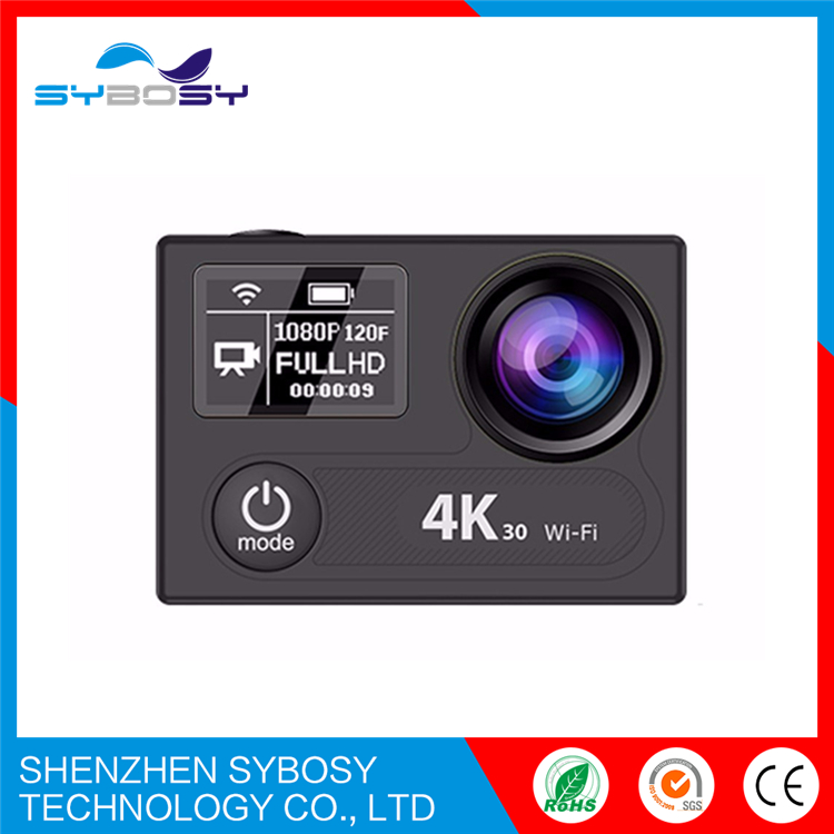 EKEN H8 plus Ultra HD 4K/30fps 1080P/120fps wifi Action Camera Ambarella A12 chip Sport Cam Dual Screen go Pro yi 2