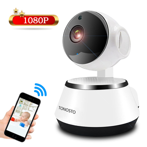 Mini Wifi Camera for Home, New Security iP Camera Wifi 1080P Motion Tracking