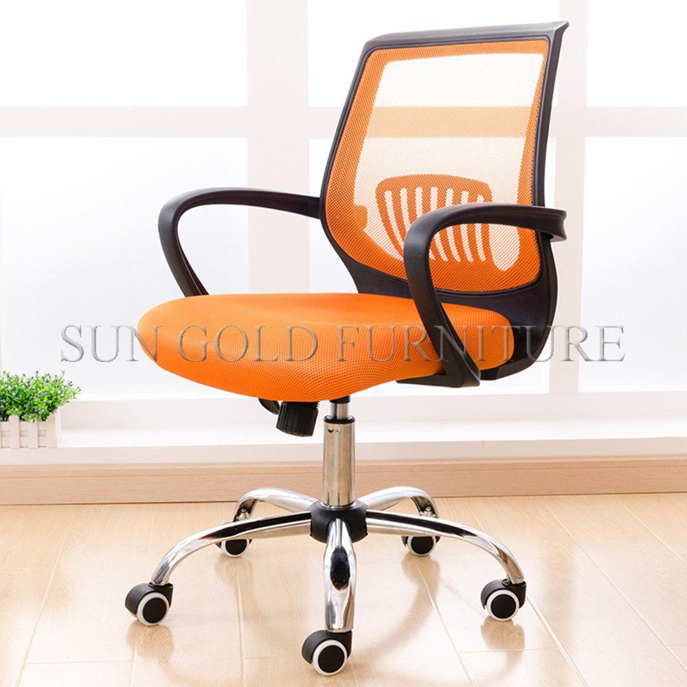 modern office revolving chair design photos orange mesh gaming chair