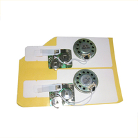Make small sound voice music recording card chip device for greeting card
