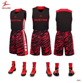 10dd50d7097 Helaong Custom Wholesale Orange Youth Retro Polyester Customisable Black Basketball  Jersey