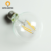 High Power Energy Saving 6W Filament 220V E27 110V LED Light Bulb