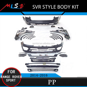 High Quality Car Bumper SVR Style Body Kit for Audi Q7 2014-2016
