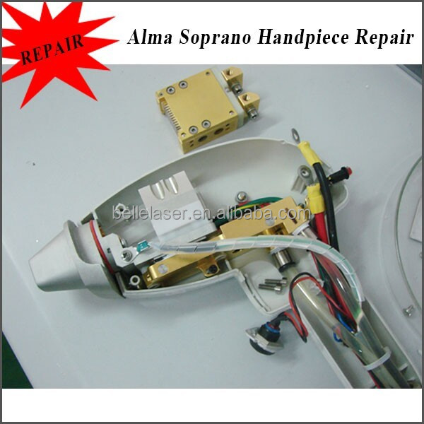 Alma laser soprano xl handle piece repair solution