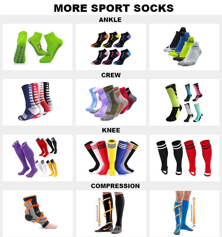 KOLOR-IIII-0190 calze sportive di colore solido