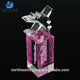 Pujiang Pink Crystal Home Decoration Laser Engraving Crystal Trophy Crystal Trophy