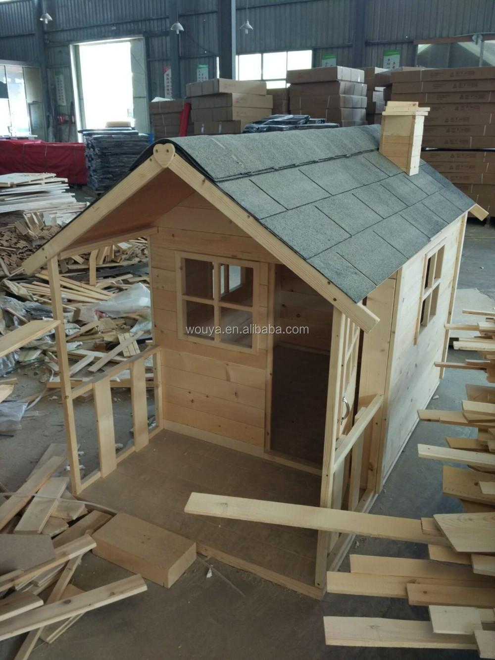 customed diseo casa de juegos de madera utilizado para nios sets de juegos al aire libre
