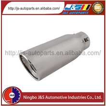 Stainless steel performance universal carbon fiber exhaust tip for 30cm carbon