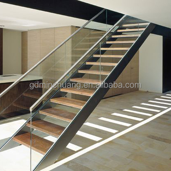 Mild Steel Railing Double Cantilevered Stairs Staircase