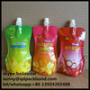 Experienced Manufacturer Stand up Laminated Liquid Plastic Spout Pouch