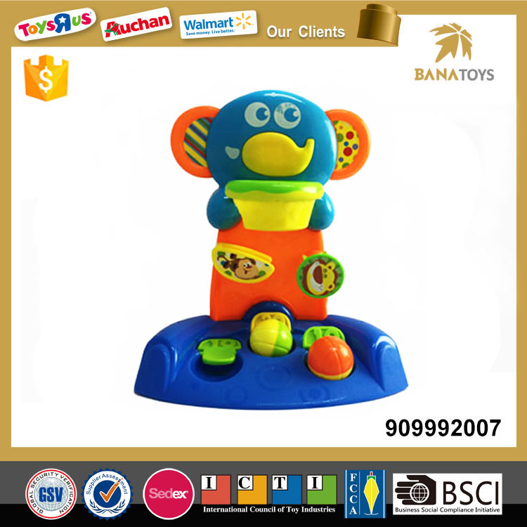 Play toy kids educational elephant basketball board