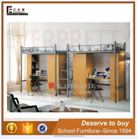 Cheap metal l bunk beds with mattresses, used bunk beds for sale