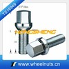 Ball seat hub flange bolt for Germany car
