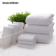 100% Cotton 5 Star Hotel Towel Set White Color Hotel Bath Towel 100 cotton white hotel 21 bath towels