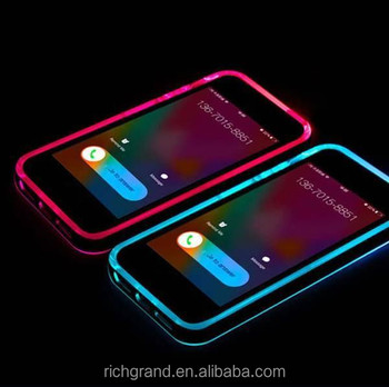 newest 1aed8 36280 Calling Flash Cover Phone Case For Iphone Led Flash Light Clear Case - Buy  Led Flash Case,Calling Flash Phone Case,Led Clear Case Product on ...