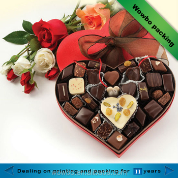Luxury Design Gift Packaging Cardboard Paper Chocolate Box For