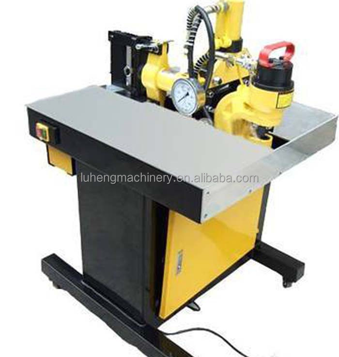 Multi-function hydraulic busbar processor machine