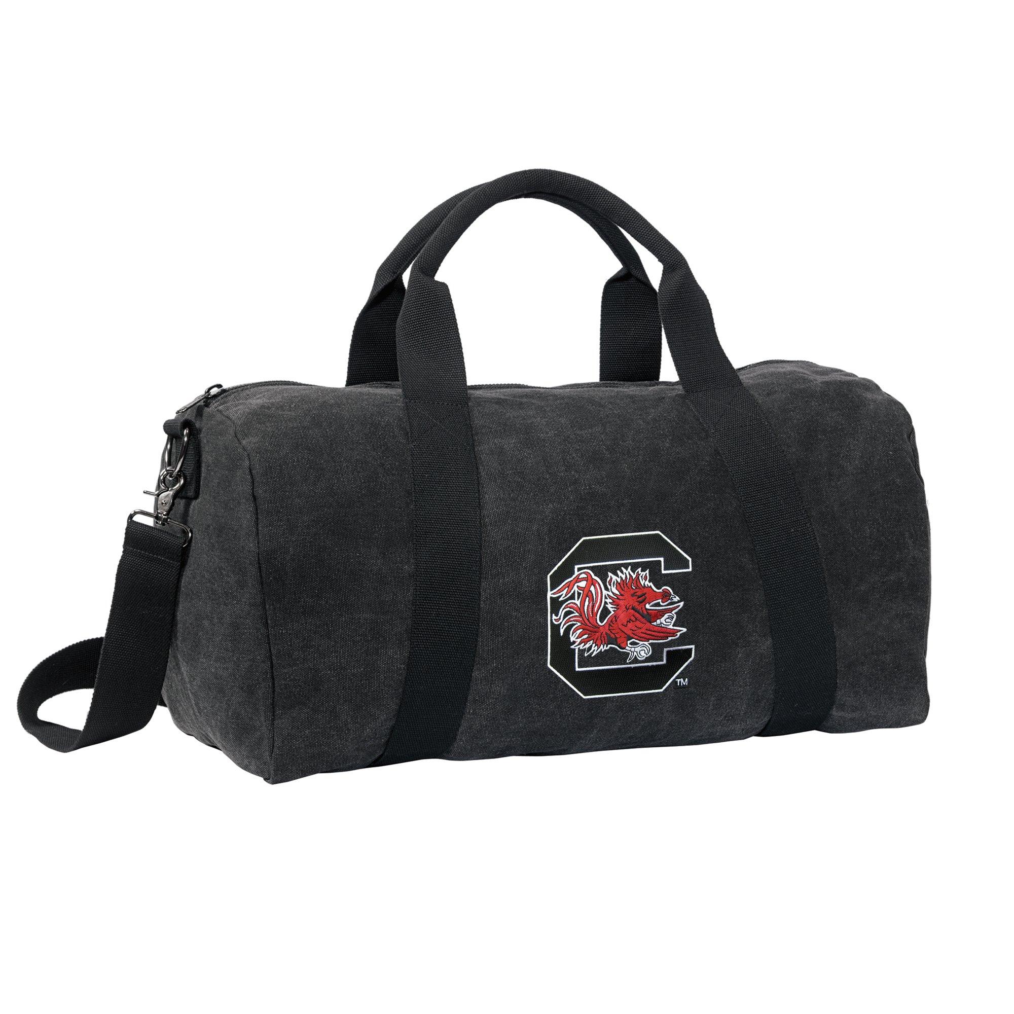 University of South Carolina Duffel Bag or CANVAS South Carolina Gamecocks Suitcase Luggage