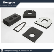 Closed Cell EPDM Neoprene CR NBR PVC EVA rubber foam seal strip gasket